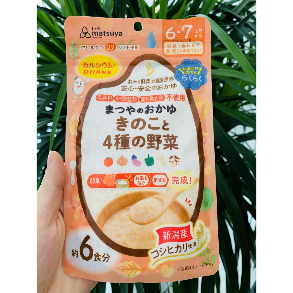 Sỉ_lẻ] Bột ăn dặm Matsuya vị rau củ, nấm 60g cho bé 6M+ date 2021 | Shopee  Việt Nam