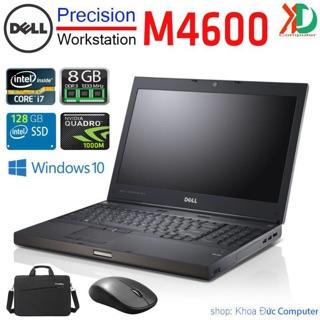 Laptop máy trạm Dell Precision M4600 Core i7/8gb ram/128gb ssd/ vga Quadro 1000M, màn 15.6inch Full HD