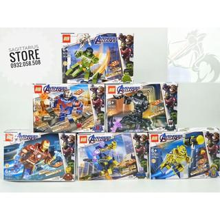 Minifigures 6 Nhân Vật Avenger 4 ( Hàng có sẵn – Đủ Mẫu )