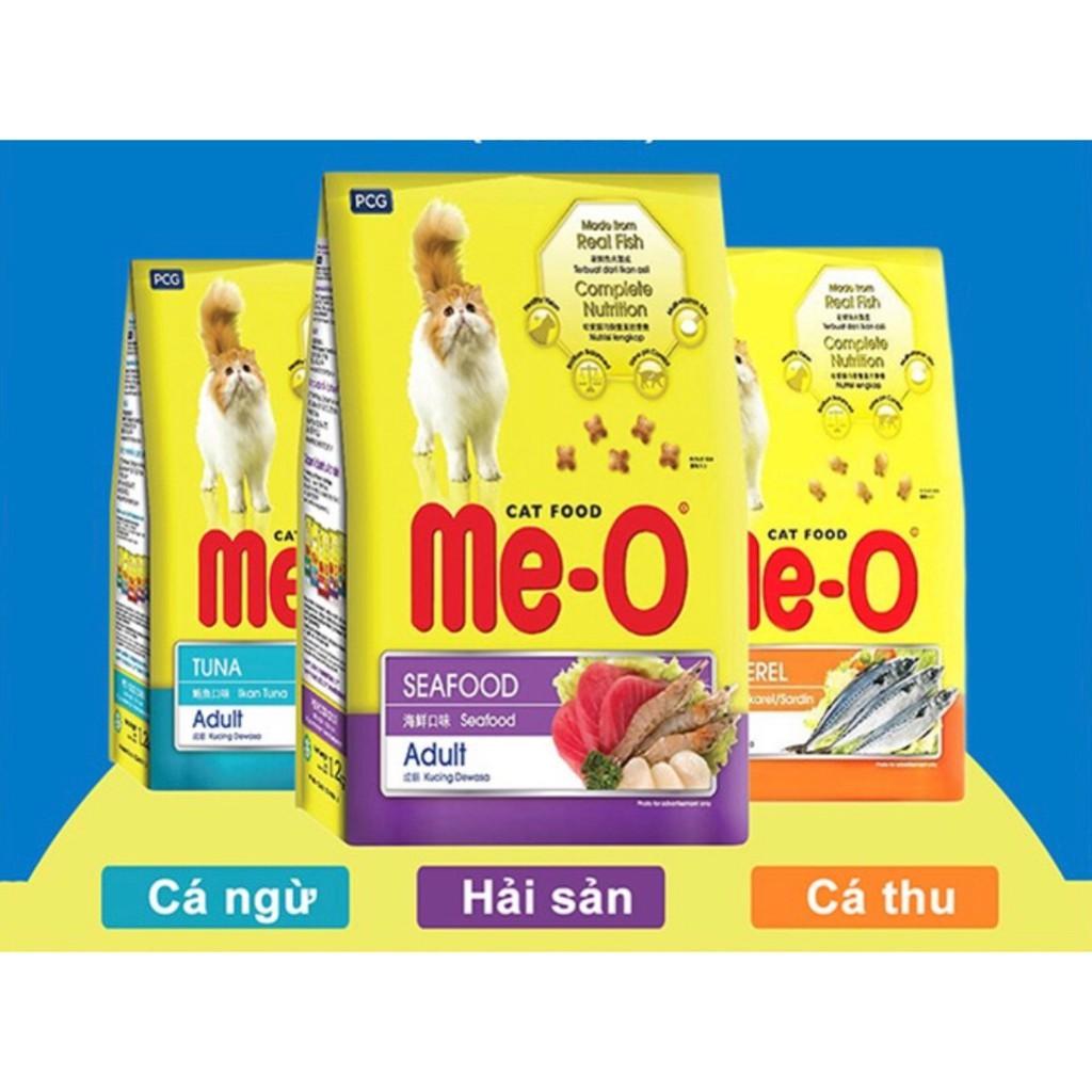 Thức ăn hạt cho mèo Me-O gói 350gr
