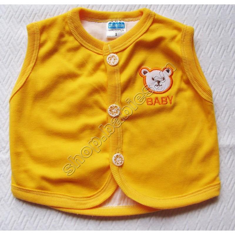 Áo ghilê trơn Chung Thủy(Dùng để khoác và giữ ấm cho bé sơ sinh)