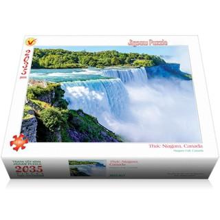 Bộ tranh xếp hình jigsaw puzzle 2035 mảnh – Thác Niagara