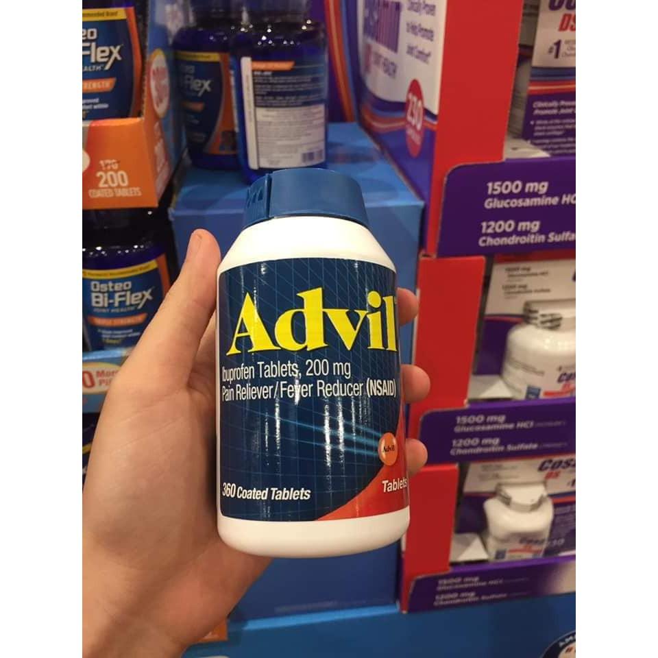 Hộp đựng 360 viên tinh chất advil_liqui gels