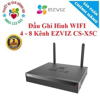Đầu Ghi Hình WIFI 4 – 8 Kênh EZVIZ CS-X5C – Chính Hãng BH 24 Tháng