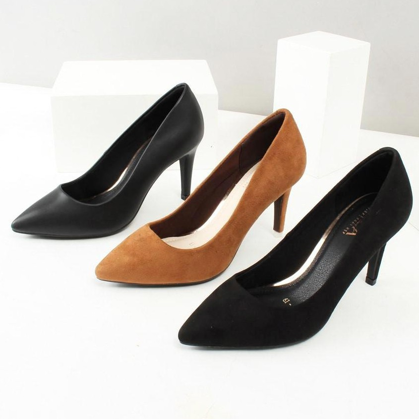 giày cao gót 7cm gót nhỏ
