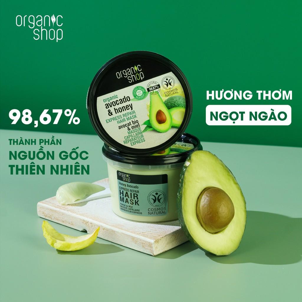 Kem Ủ Tóc Organic Shop Hair Mask (250ml)