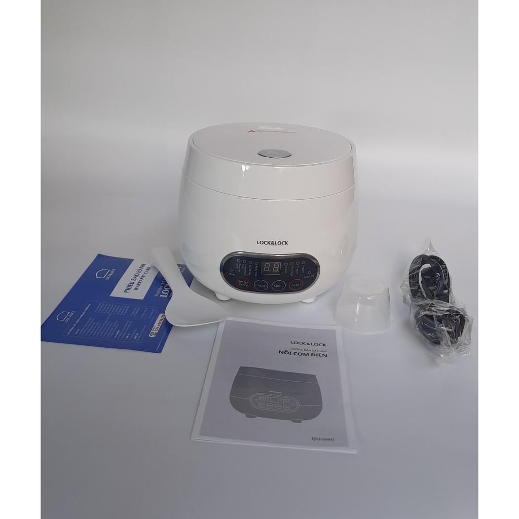 Nồi Cơm Điện Mini siêu tiện lợi 0.8 lít Lock&Lock - EJR326