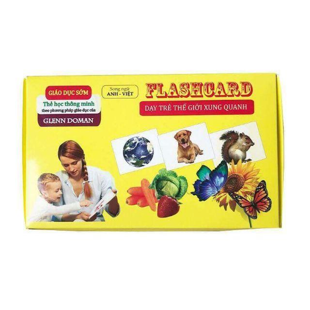 Bộ thẻ học Flashcard dạy con yêu những điều hay ngay từ thuở còn nhỏ