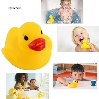 ♕20 Pcs Cute Squeaky Ducks Baby Kids Children Water Bathing Beach Fun Toys