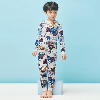 Đồ bộ cotton thu đông 2020 cho bé trai 1-9 tuổi Unifriend Hàn Quốc Uni0793