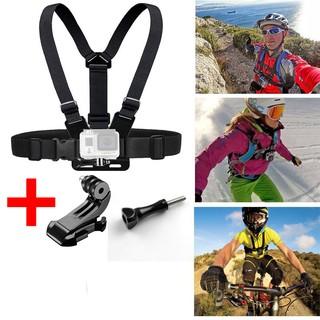 [Mã ELORDER5 giảm 10k đơn 20k] Dây đeo ngực action cam GoPro Sjcam, điện thoại làm camera hành trình