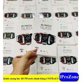 Kính cường lực 4D chính hãng COTEetCI cho Apple Watch size 38- 40-42-44mm thumbnail