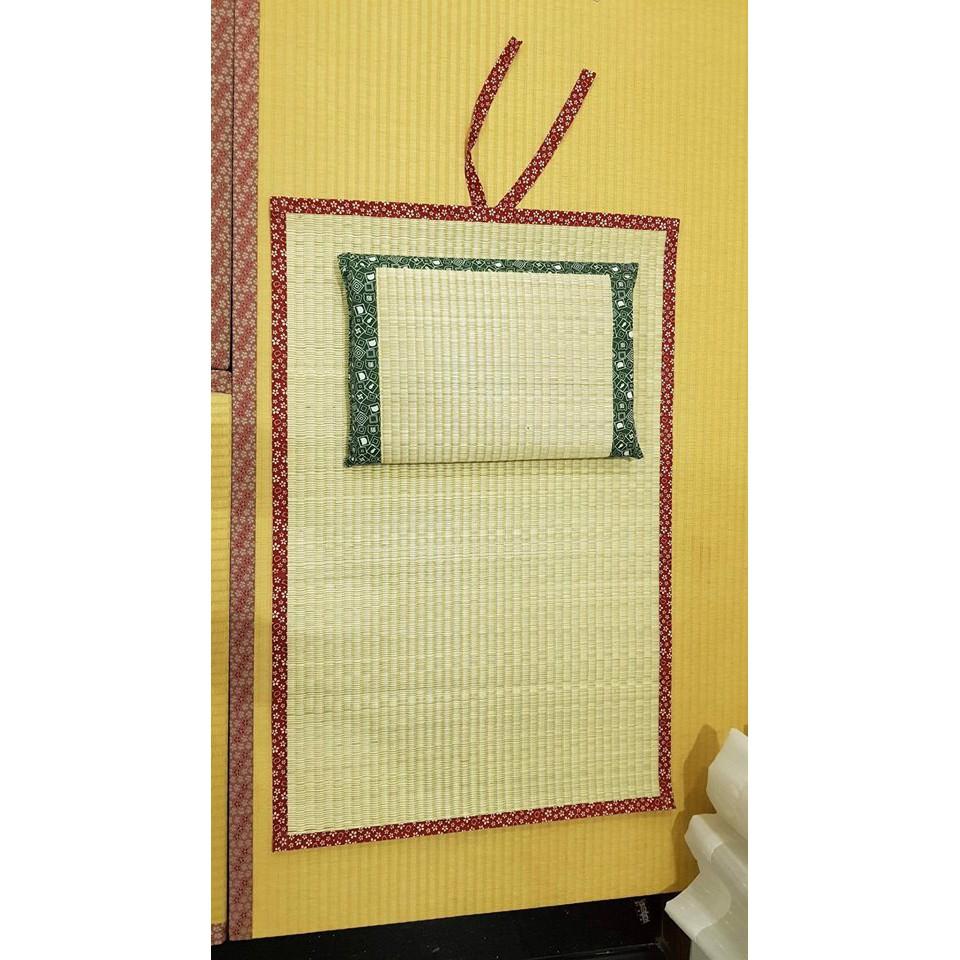 Chiếu cói điều hòa xuất Nhật Tatami mùa hè cho bé 70x110cm