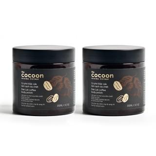 Combo 2 chai Cà phê Đắk lắk làm sạch da chết Cocoon (200ml chai) thumbnail