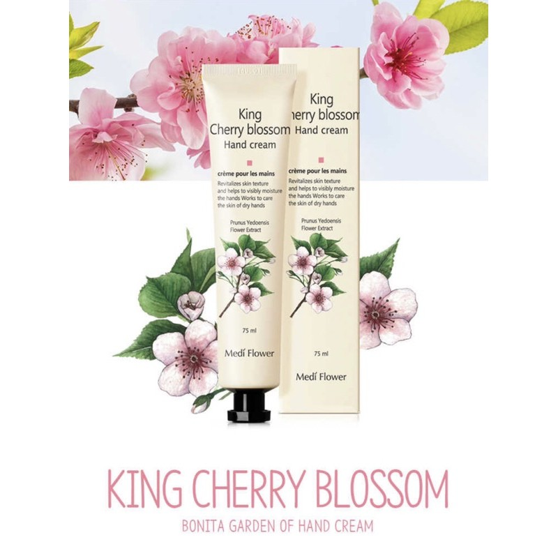 Kem dưỡng mềm da tay Medi Flower Bonita Garden Hand Cream Hàn Quốc