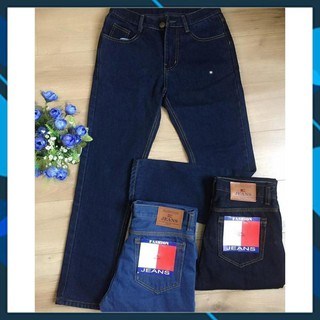 Quần jean nam ống suông vải dày nhều màu, size 28-36 (50-90kg) phù hợp với mọi lứa tuổi