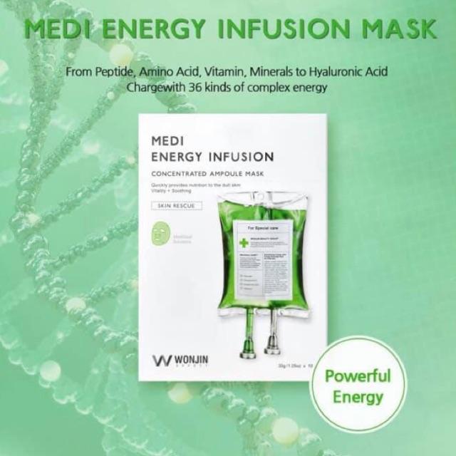 Mặt nạ Wonjin Effect Medi Energy Infusion, giá chỉ 152,000đ! Mua ngay kẻo hết! | Store.SaleZone.Vn