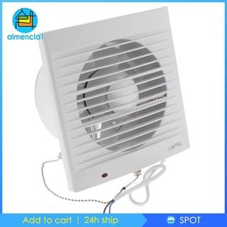 """[ALMENCLA1]220V 6"""" inch Bath Ceiling Wall Mount Ventilation Fan Air Vent Exhaust Fan"""