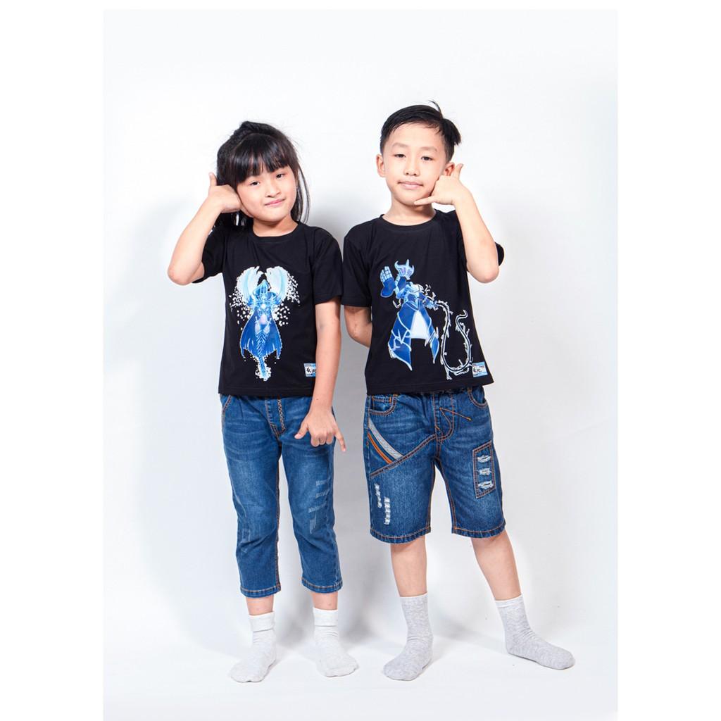 Áo thun trẻ em bé trai và gái in hình robot_FIrstcry