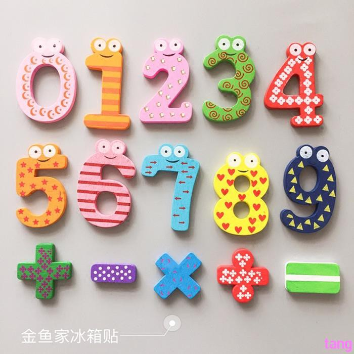 [9.9] cartoon cute children early education large wooden digital English letters