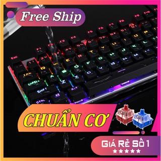 Phím cơ chơi game Forev Q 302 18 chế độ LED, chuyên game LOL, PUBG