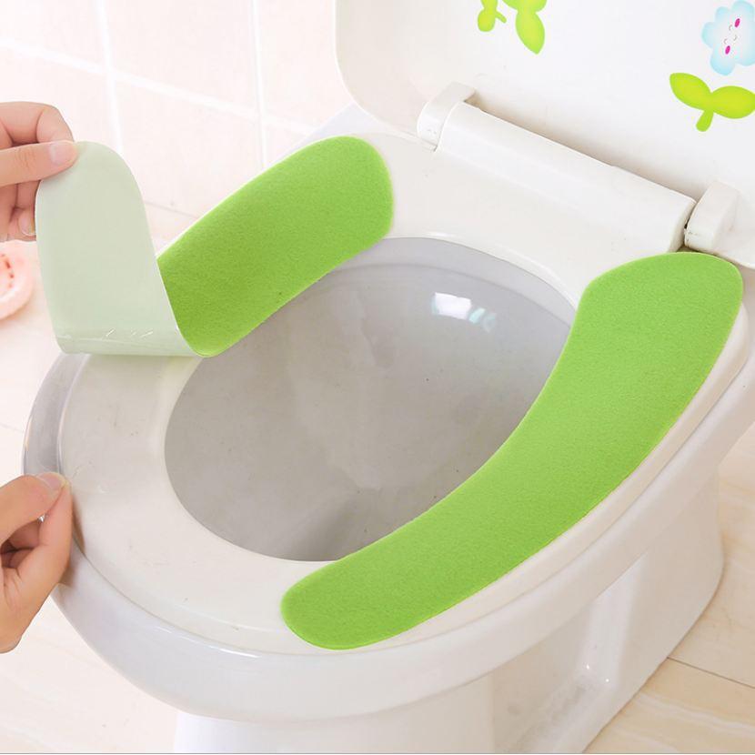 [XẢ HÀNG] đồ dùng phòng tắm-Bộ lót bồn cầu mùa đông | Toàn Quốc