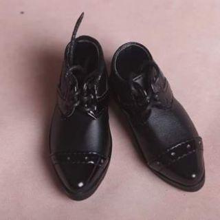 Giày tây cho búp bê bjd 1/4 kích thước 6.5cm