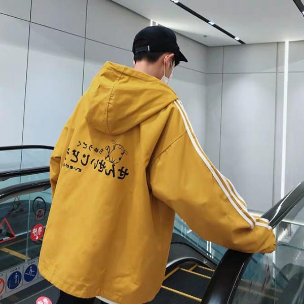 [S03] Áo khoác nam dù phối tay thêu logo - M111 - Áo khoác nhẹ