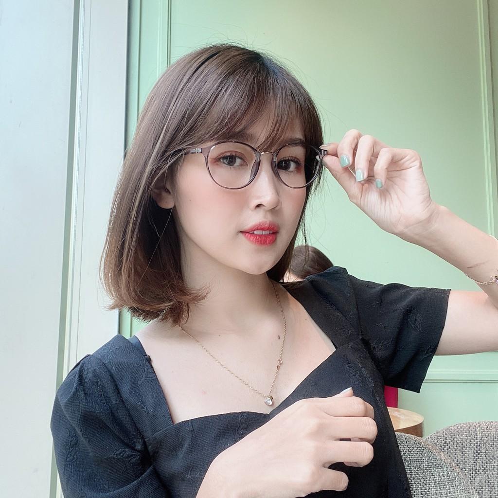 Gọng Kính Cận Dẻo Mắt Tròn Hàn Quốc 2168