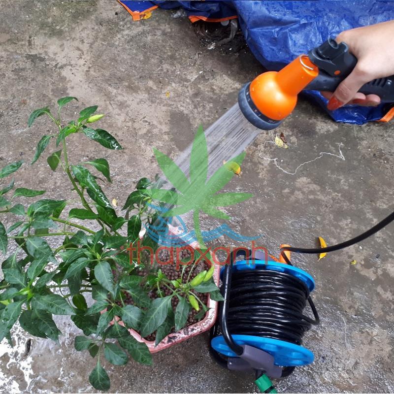 Vòi xịt nước tưới cây, rửa xe, phun sương đa năng (8 trong 1) cao cấp