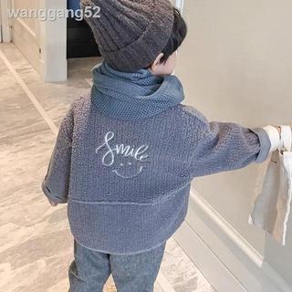 ♠☃Áo khoác vải Cashmere kiểu Hàn Quốc dễ thương cho bé