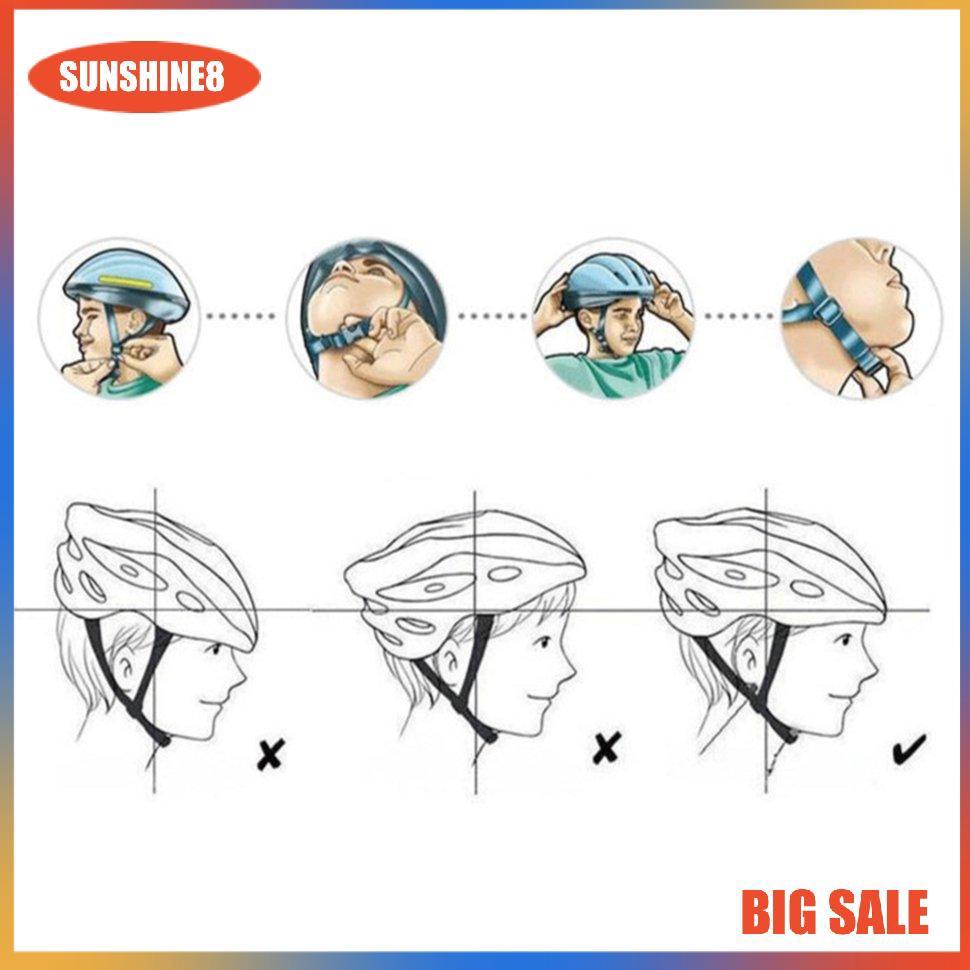 Mũ Bảo Hiểm Xe Đạp Siêu Nhẹ Chống Bụi 7.23