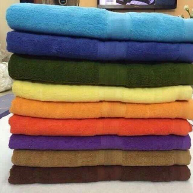 { lẻ rẻ bằng buôn}Khăn tắm 70×140 sợi bông cotton giá lẻ bằng buôn