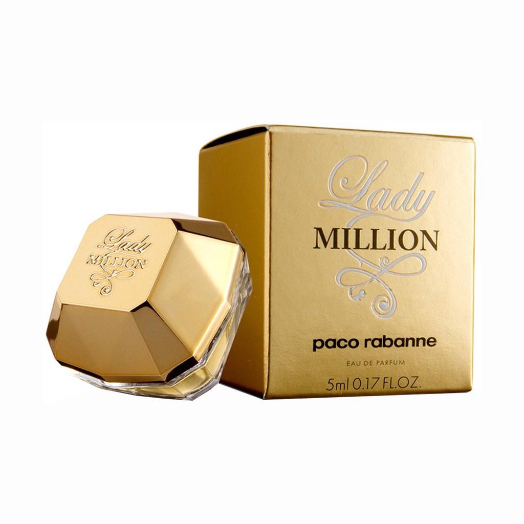 Nước hoa nữ Lady MILLION, nước hoa nữ mini hương thơm kích thích - MP29