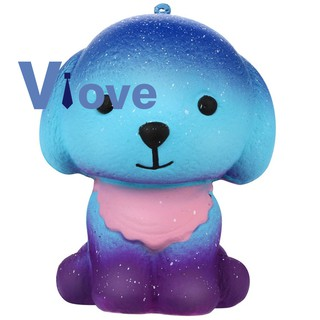 Puppy Dog Slow Rising Squeeze Stress Reliever Smooshy Mushy Toys