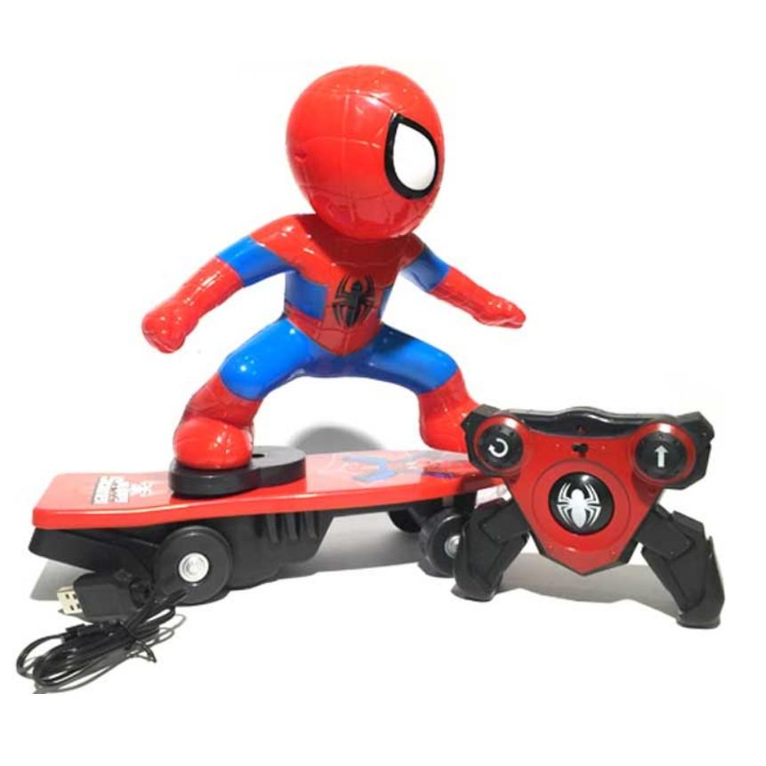 Spider Man - Người Nhện Trượt Patin Điều Khiển