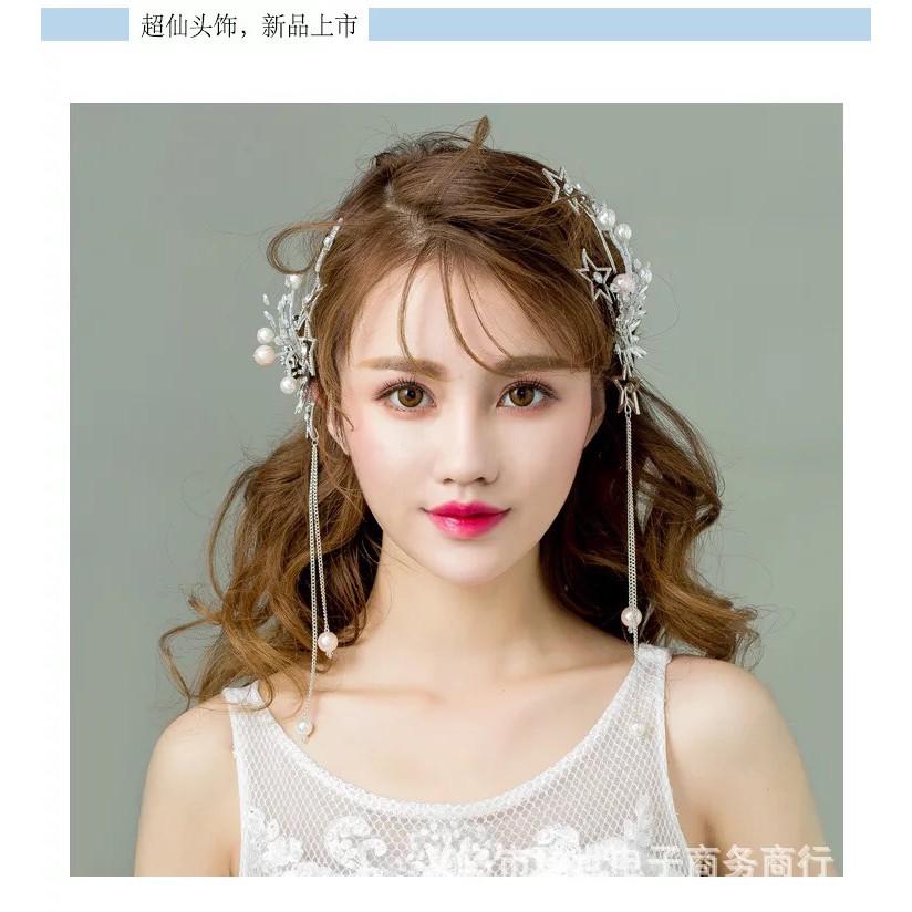 Cài tóc cô dâu ốp xi hạt trai sao bộ 2 cái - 3179586 , 1051116909 , 322_1051116909 , 250000 , Cai-toc-co-dau-op-xi-hat-trai-sao-bo-2-cai-322_1051116909 , shopee.vn , Cài tóc cô dâu ốp xi hạt trai sao bộ 2 cái
