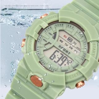 Đồng hồ điện tử chống thấm nước 5 màu tùy chọn thời trang