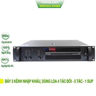 Main Cục Đẩy 3 kênh dB acoustic D2610, công suất 500W, hàng chính hãng, thương hiệu Mỹ thumbnail