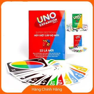 [Giảm giá] [Bán Sỉ] 10 bộ Uno mở rộng 1 và Uno mở rộng 2_Hàng tốt