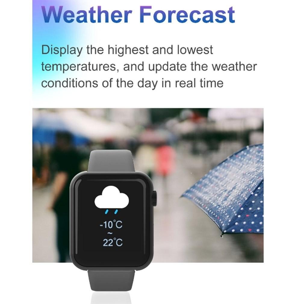 Đồng Hồ Thông Minh V6 Chống Nước Theo Dõi Nhịp Tim / Huyết Áp Kết Nối Bluetooth Cho Android Ios Điện Thoại