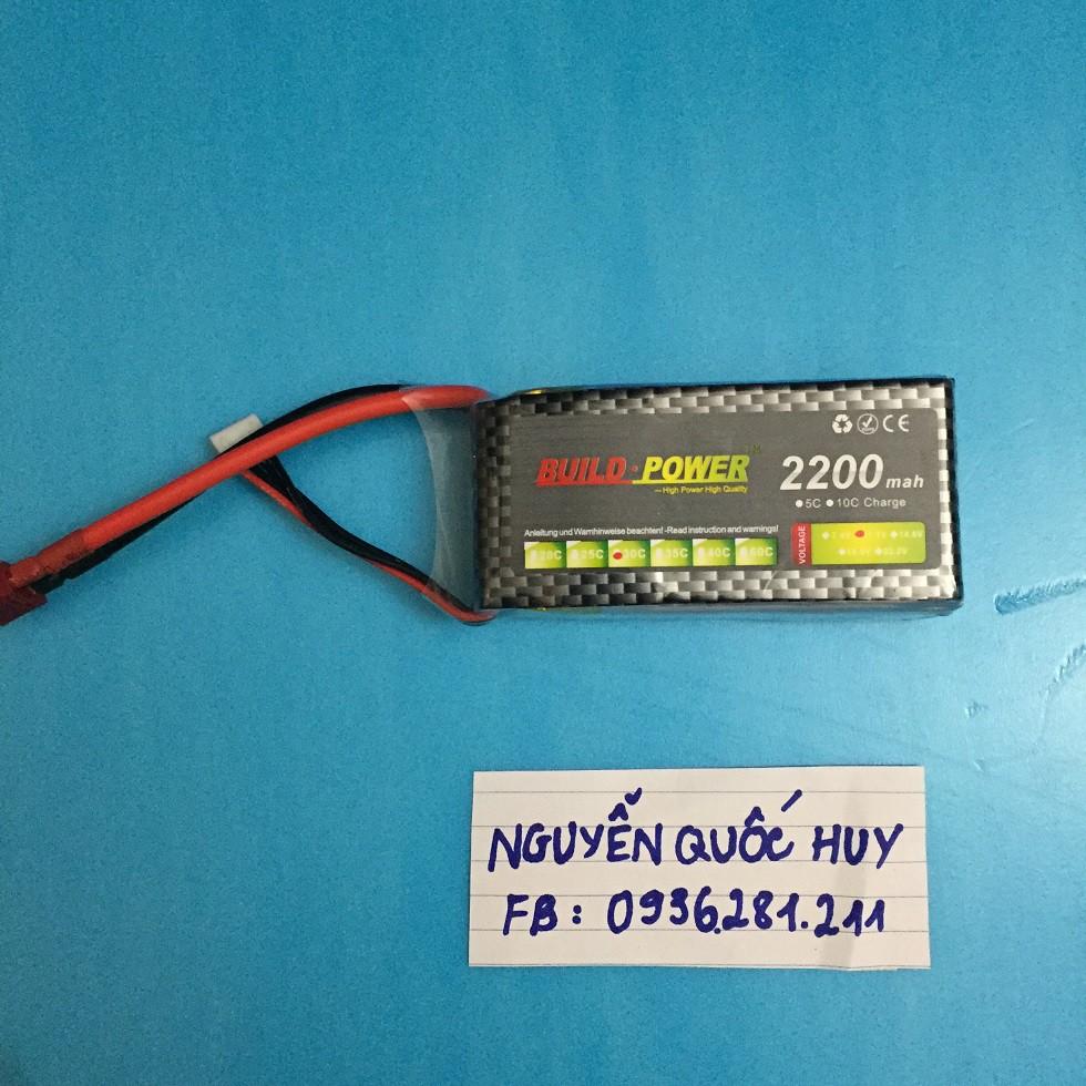 Pin 3s 2200mah 30C Build Power