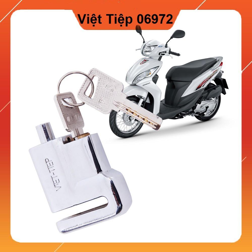 Khóa phanh đĩa, thắng đĩa Việt Tiệp, phù hợp mọi loại xe máy honda, xe PKL, xe đạp điện, xe máy điện có thắng đĩa