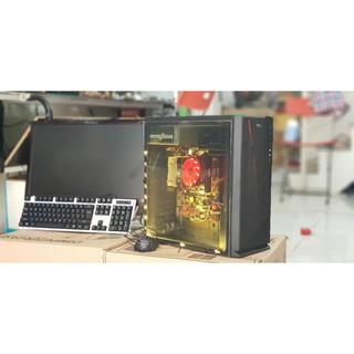 Máy vi tính chơi game lol max setting, A8 5600K, Ram 8GB, AMD Radeon HD 7560D, kèm màn hình 22inch