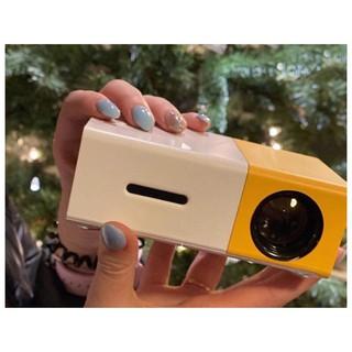 Máy chiếu phim Mini Kết nối bluetooth – Không Dây cho điện thoại laptop YG-300 hỗ trợ độ phân giải lên đến 1920 x 1080