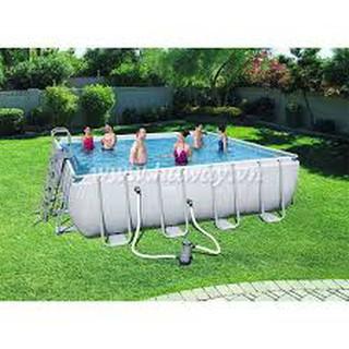 Bể bơi khung chống kim loại 2,01x 4,12 cao 1,2m,Bestway 56441