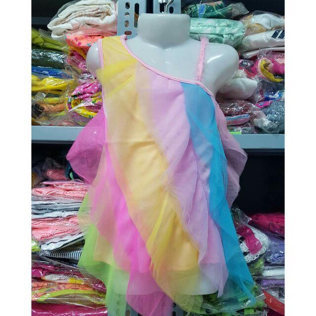 Váy 7 màu bé gái (7-