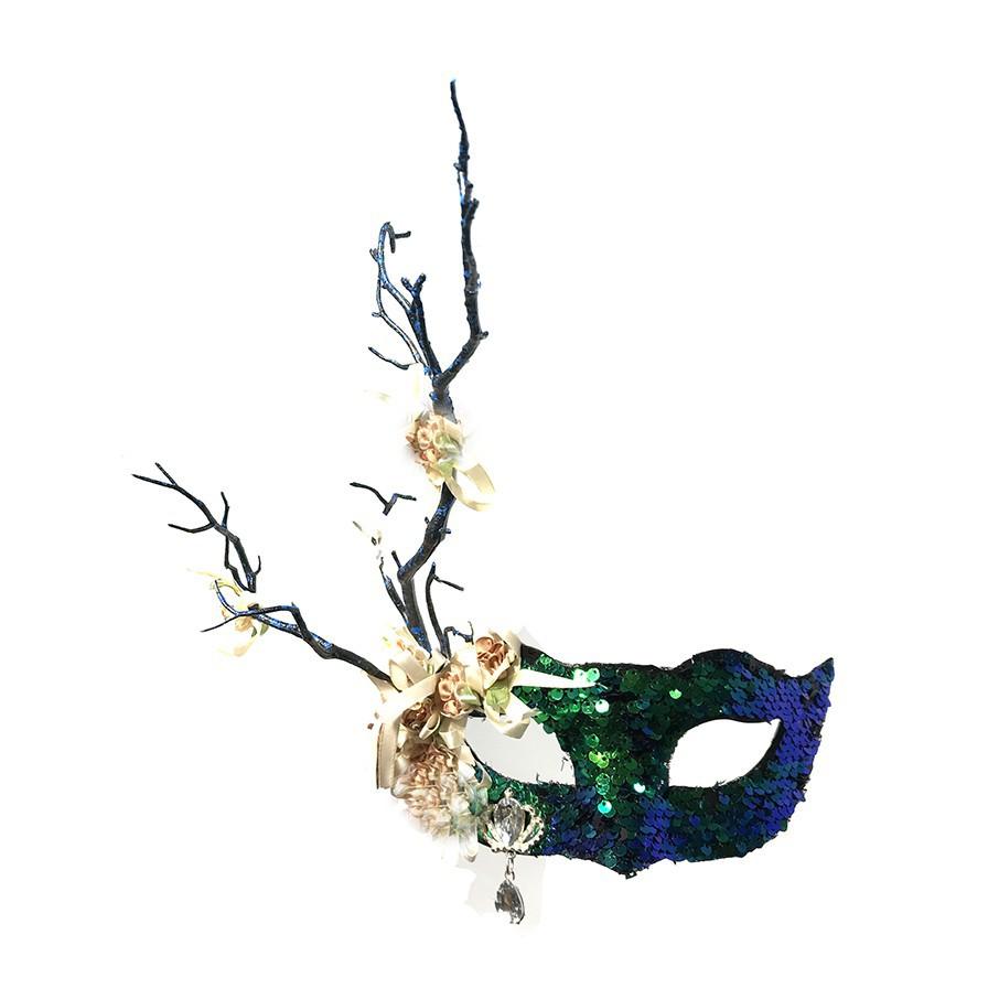mặt nạ hóa trang halloween hình cánh hoa
