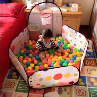 Combo lều + 100 quả bóng chơi cho bé