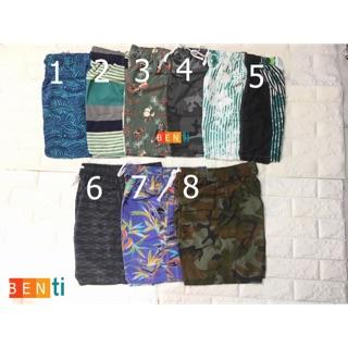 Quần đùi nam hoa văn – quần short